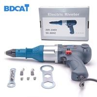 BDCAT 400W Electric Riveter Nail Gun Blind Rivets Gun Riveting Tool Electrical Power Tool For 3.2 5.0mm