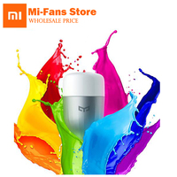 100 Original Xiaomi Mi Yeelight LED Remote Control Colorful APP Tperature Romantic Lamp Yeelight For IOS