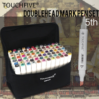 TOUCHFIVE 30 40 60 80 Color Professional Art Marker For Manga Anime Comic Design Drawing Art