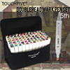 TOUCHFIVE 30 40 60 80 Color Professional Art Marker For Manga Anime Comic Design Drawing Art