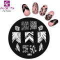 A Series A55 Beauty Nail Art Polish DIY Stamping Plates Image Templates Nail Stamp Stencil stamping plates nail for nail