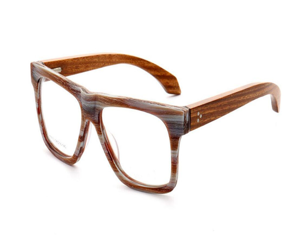 Rahmen Holz Progressive brennweite Retro Nähe Tempel Mongoten Brillen Von Mode Sehen Lesen In Unisex Der Multi Vollrand Weit RI1xnqvwf