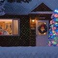 5W Volle Sky Star Laser Projektor Landschaft Blau & Grün LED Bühne Licht Im Freien Weihnachten Laser Lampe für Disco DJ Licht Partei-in Bühnen-Lichteffekt aus Licht & Beleuchtung bei