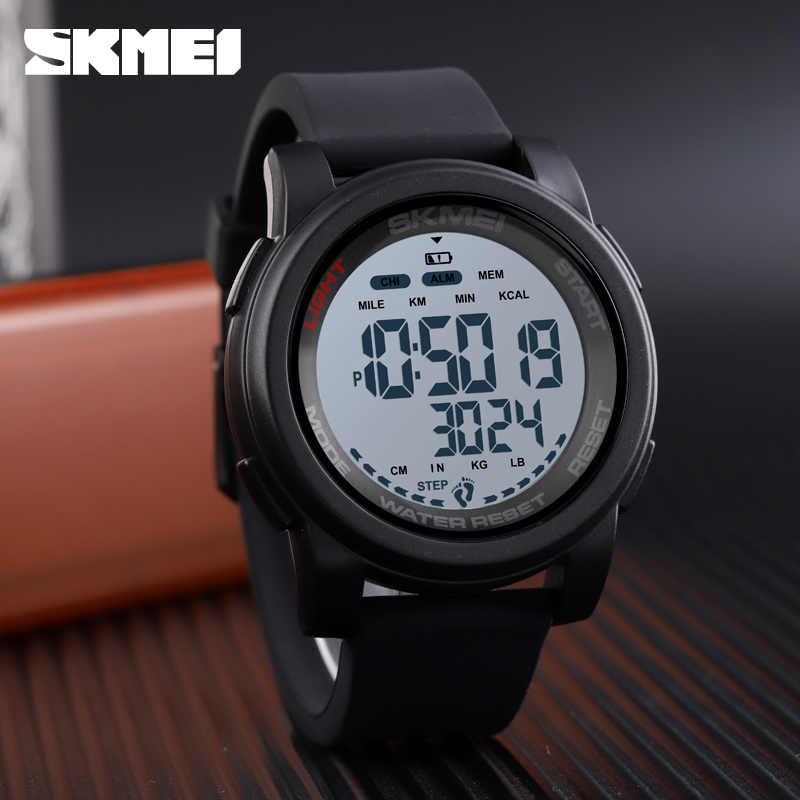 SKMEI Men's Watches Digital Watch Men Wrist Watch Pedometer Calorie Waterproof Sport Watches For Men Relogio Masculino