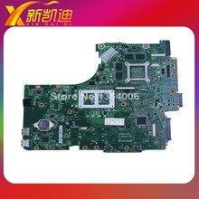 For ASUS N53SV N53SM N53SN Original laptop motherboard (mainboard) nvidia GT540M and 2 RAM slots Rev 2.0 1GB free shipping