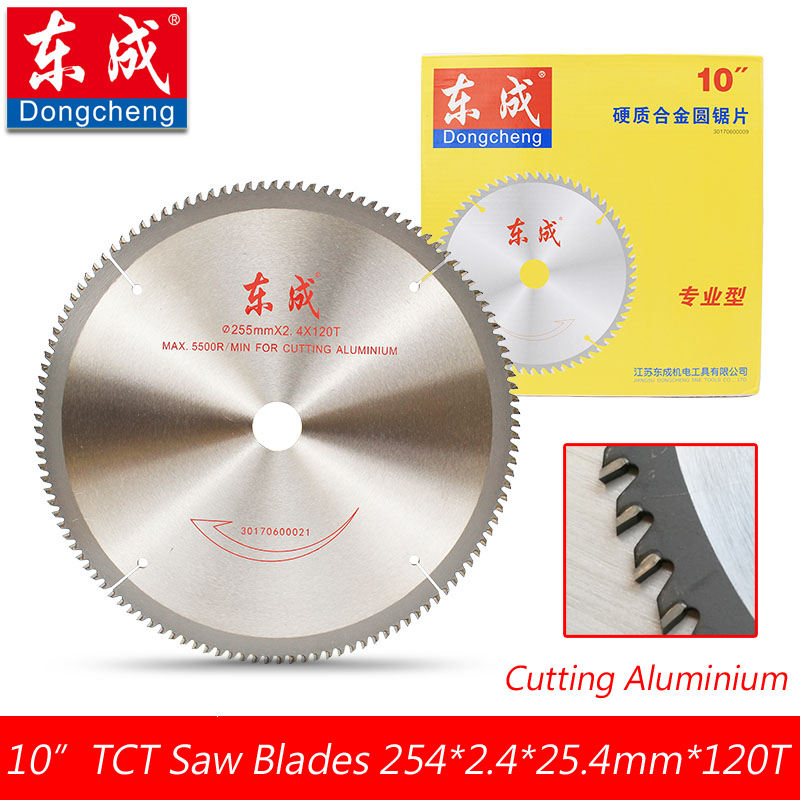 10 120 Teeth TCT Circular Saw Blades For Aluminium 255mm 100 Teeth Table Saw Blades Cutting Aluminium Bore 25.4 or 20.0mm 12 72 teeth 300mm carbide tipped saw blade with silencer holes for cutting melamine faced chipboard free shipping g teeth