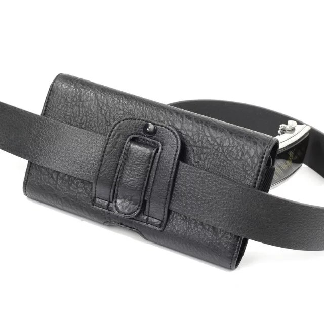 Classic Black Men's Waist Bag Mobile Phone Case Outdoor Protective Case for Nomu S30 S20 <font><b>S10</b></font> <font><b>Homtom</b></font> HT20 <font><b>Pro</b></font> HT16 HT17 <font><b>Pro</b></font> ht37 image