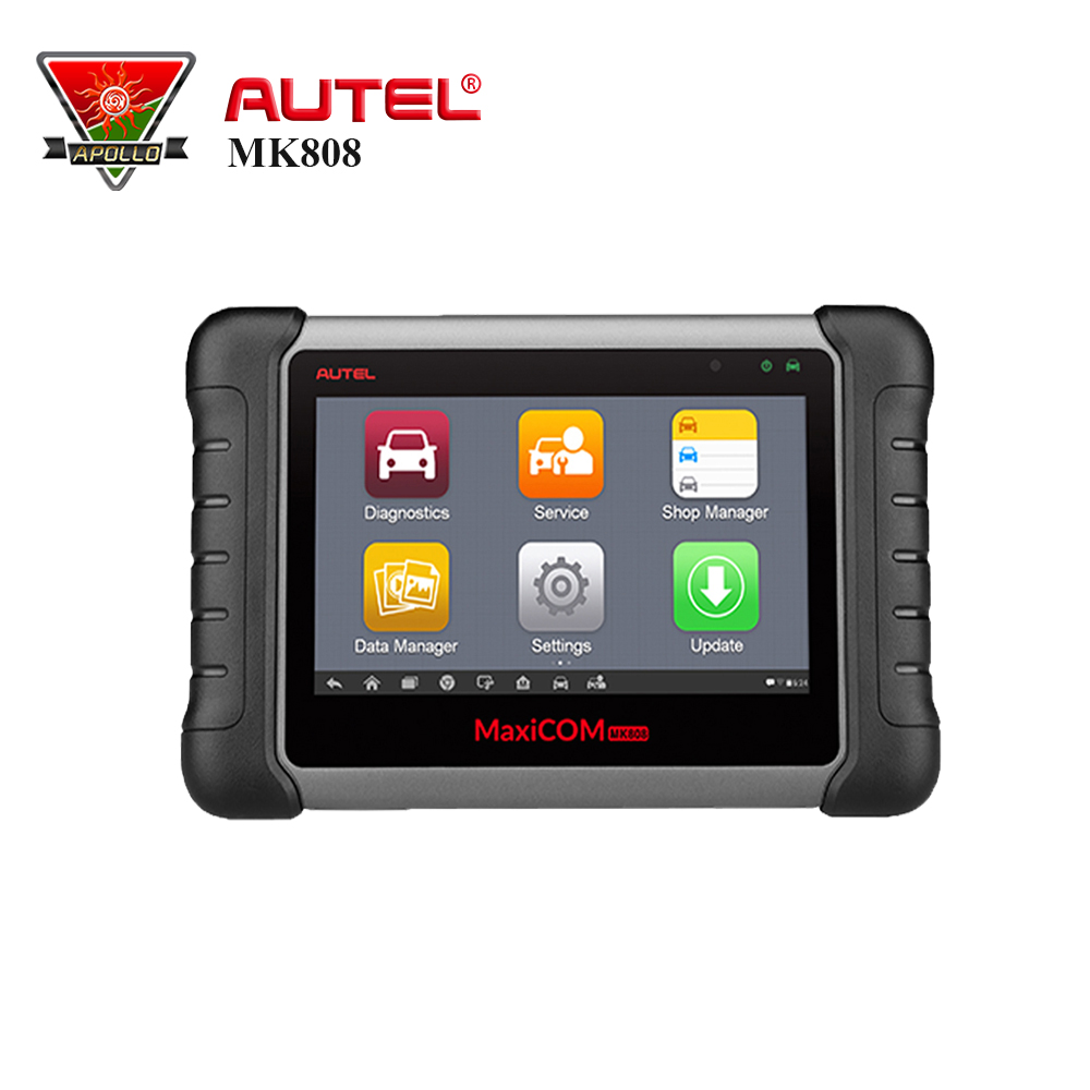 Autel MaxiCOM MK808 diagnostic tool OBD2 Code Reader obd 2 Scanner With Full Systems as MD802 All System + MaxiCheck Pro MX808 все цены
