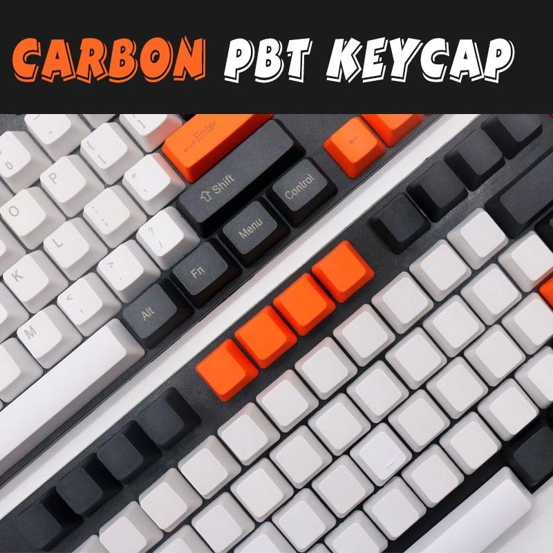 CARBON ZEALER Top Printed Pbt Keycap For Mechanical Keyboard 108 Keys Full Set Dolch Keycaps Keys Corsair Bfilco Minila(China)