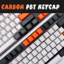 פחמן ZEALER למעלה מודפס Pbt Keycap עבור מכאני מקלדת 108 מפתחות מלא סט Dolch Keycaps מפתחות Corsair Bfilco Minila