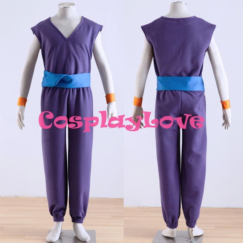 Costumes Cosplay Daimao Piccolo de Dragon Ball violet de haute qualité