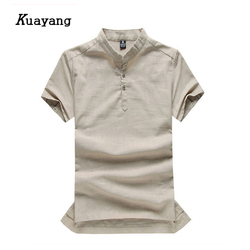 2015 new arrival fashion men linen shirt comfort breathe freely chinese style casual wear summer style.jpg 250x250
