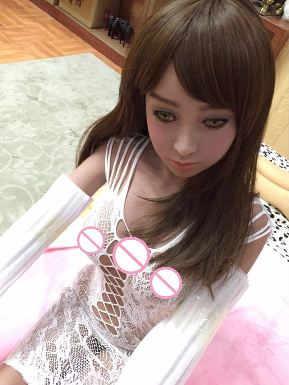 2017 NEW 140cm lifelike japanese real silicone sexdoll vagina ass oral sex doll adult anime sex