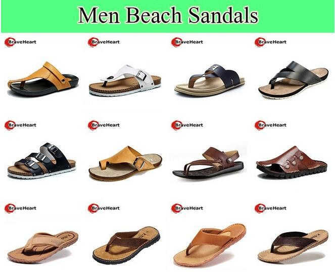 0776b643f Summer Mesh Casual Sandals Open Toe Men Beach Sandals New Style ...