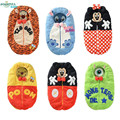 Baby Sleeping Bags Cartoon Envelope Newborn Spring Autum Sleep Sack Coral Fleece Infant Swaddle Blankets Children Clothing