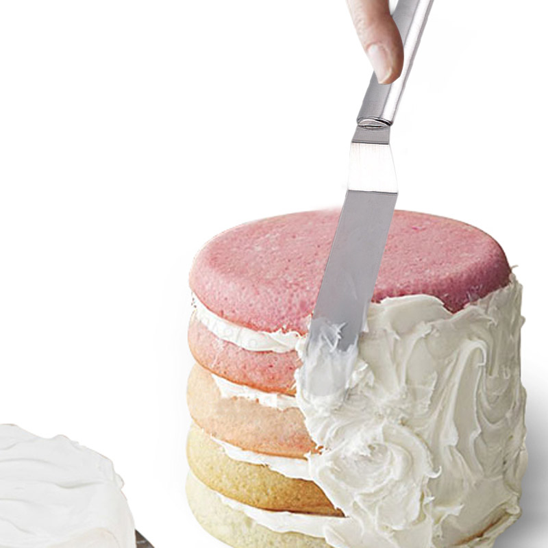 Stainless Steel Icing Spatula Cake Cream Frosting Filling Spreader Smoother
