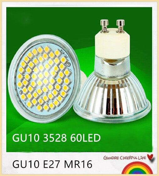 10 STKS LED Spot GU10 E27 MR16 lamp 6 W 9 W hittebestendig Glas Body ...