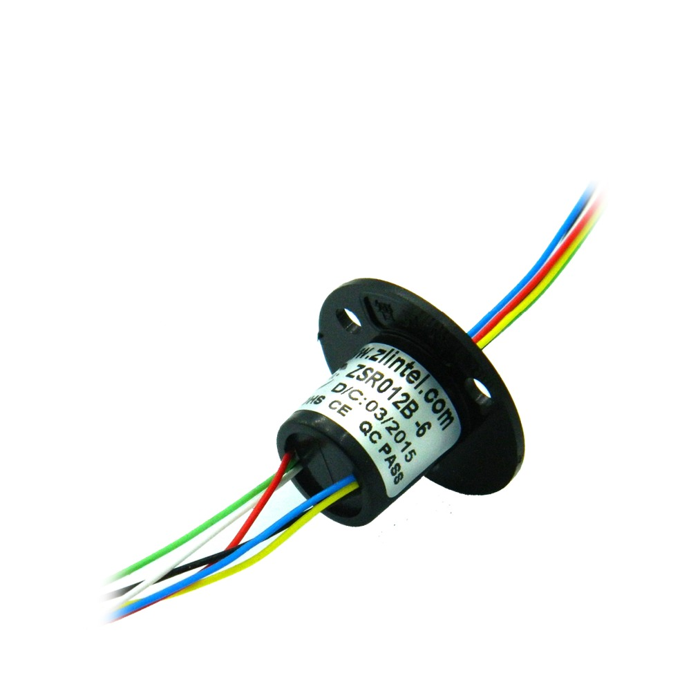 ZSR012B-6 6 Channel 2A Precision Turntable Conductive Slip Ring For Stage Lights Accessories Slip Rings