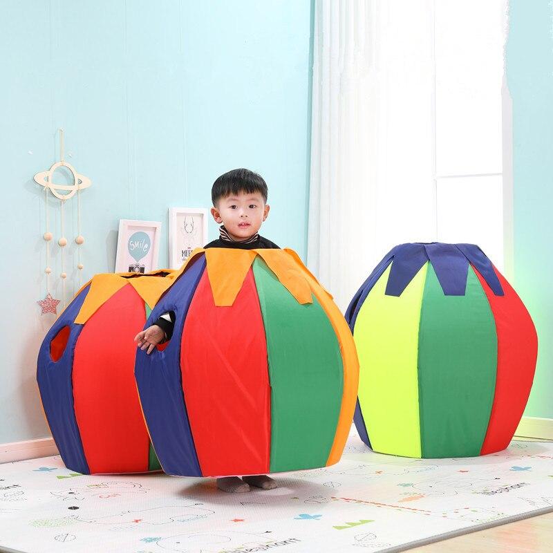 Pingouin coloré de jouets d'intérieur extérieurs de jardin d'enfants, accessoires de jeux de Sports d'équipement de formation d'intégration sensorielle d'enfants
