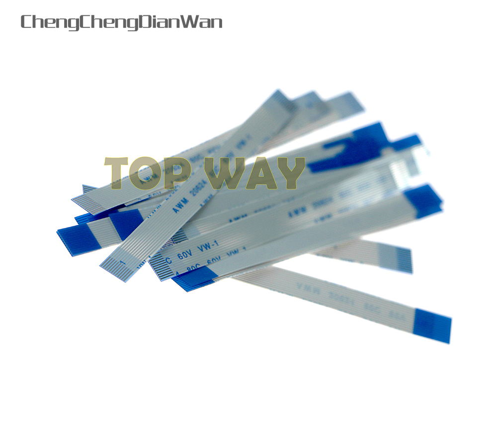 ChengChengDianWan 10pcs/lot Promotion Price For Power Switch Flex Cable Ribbon Cable for <font><b>PS2</b></font> <font><b>50000</b></font> 500xx 5W Model image