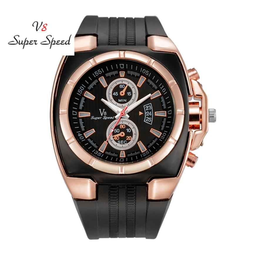 Heren Horloge 1 stks Mode mannen Dunne Silicagel Studenten Sport Quartz Horloge drop shipping 2018JUL12