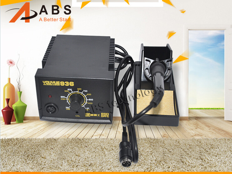 220V YOUYUE 936 Electric Soldering Station Digital Solder Irons Welding Machine Free shipping 936 soldering station 220v 60 65w electric soldering iron for solder adjustable machine make seals tin wire solder tip