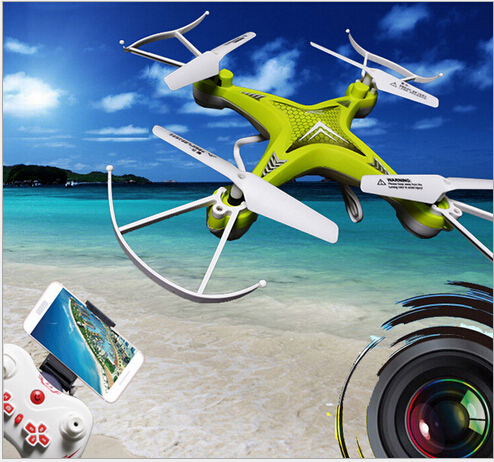 ФОТО Newest Professional WIFI FPV rc Drones L6053 Headless Mode 6 Axis Gyro 2.4GHz 4CH RC Quadcopter can with 2.0 MP HD VS X800