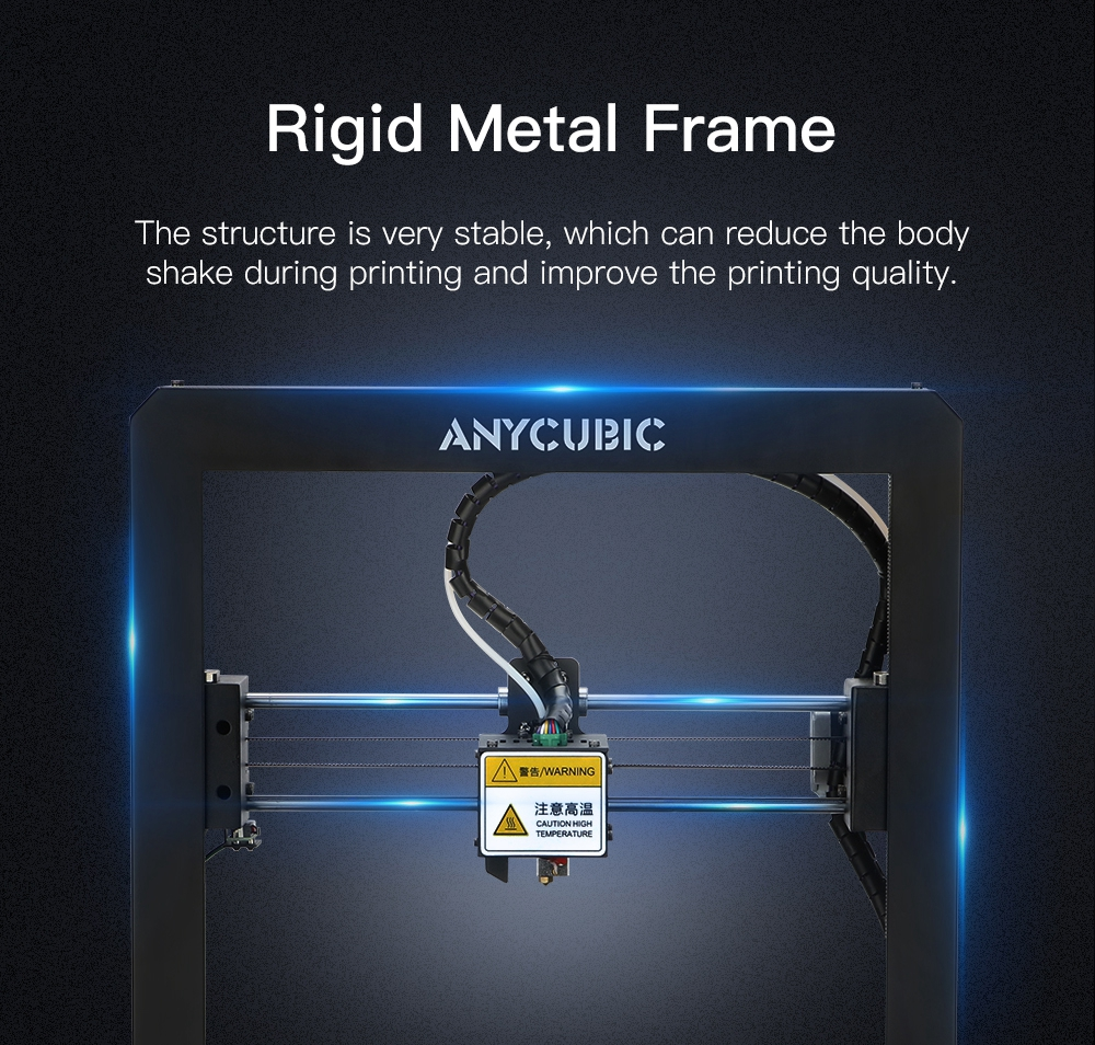 Image 2 - Free Shipping ANYCUBIC I3 Mega 3D Printer Kit Large Printing Plus Size Full Metal Frame 3D Drucker Impresora-in 3D Printers from Computer & Office