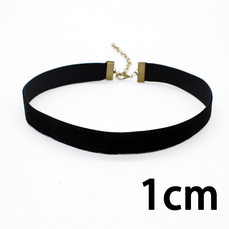 19 New hollow Designs Velvet Chokers Necklace Black Leather Rope Chain layer Chocker Vintage Jewelry for women Collier femme 30