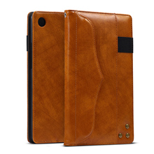 Luxury Leather Case For Huawei MediaPad M5 8.4 inch Cases Flip Stand Bumper Covers Protective Coque