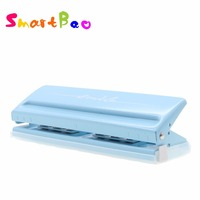 6 Hole Punch for Planners Metal Slide Punch Adjustable Puncher Easy to Use On Multiple Pages