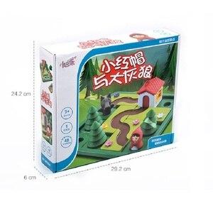 Image 5 - Little Red Riding Hood Deluxeทักษะสมาร์ทเกมกระดานหนังสือภาพสำหรับอายุ4 7 Challengeของเล่นสำหรับครอบครัวเกม