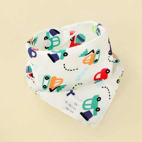 8 patrones bebé recién nacido niñas niños Baberos a prueba de agua Saliva pañuelo toallas alimentación Bandana