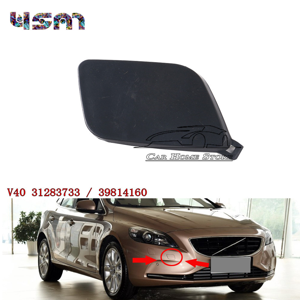 New Front Bumper Towing Tow Hook Eye Cap Cover Random Color For Volvo V40 31283733 39814160