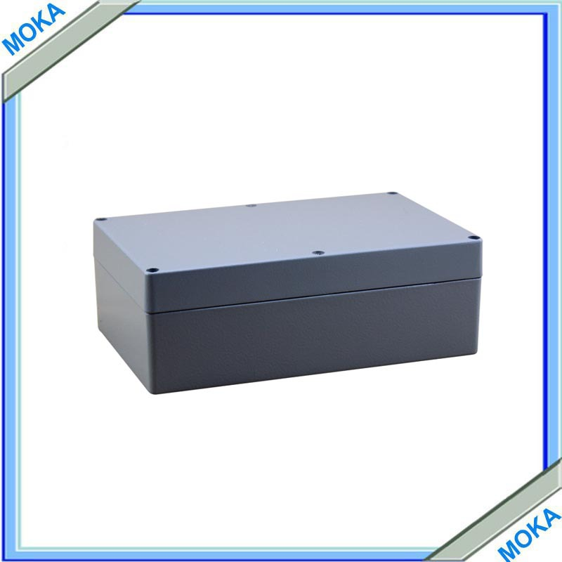 Factory Supply Rectangle Waterproof And Dustproof IP67 Aluminium Box For Electronic 222*145*75mm 2014 hot sale high qulity ip65 die cast aluminum waterproof box 222 145 75mm with 6pcs screws and 2 iron mounting feet