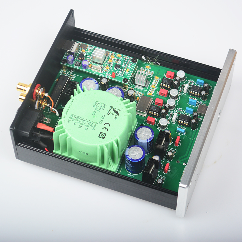 2017 New Breeze Audio High-end ESS9018 XMOS Asynchronous USB DAC SU3 ES9018 DAC Support DSD/PCM 32BIT 384K And Headphone Output