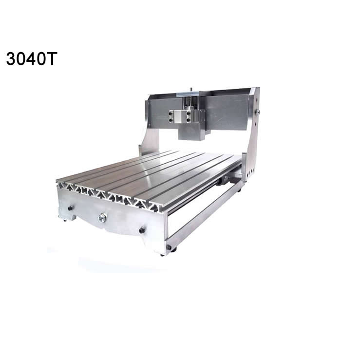 DIY 3040 cnc machine frame cnc cutting router parts mini lath engraving area 400X300X60mm eur free tax cnc 6040z frame of engraving and milling machine for diy cnc router