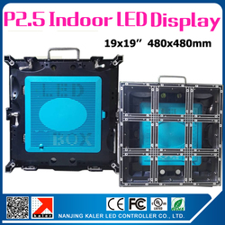Low Price New version P2.5 led panel 0.48x0.48m 2121SMD indoor rental led video display better heat dissipation