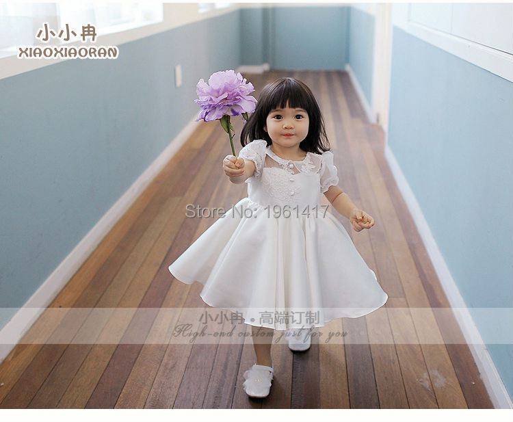 Hot Sale Baby-girls Lace Dress Baby Party Formal Dress Can Be Customized 0 12month baby girls