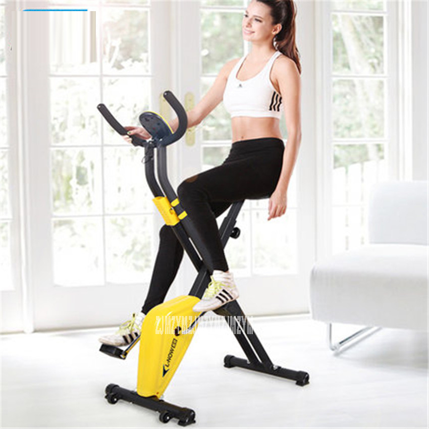 LD-988 Ultra - quiet fitness car home bicycles indoor sports  to lose weight fitness equipment  load 70kg Indoor Cycling Bikes hot healthy household bicycle super mute younger dynamic magnetic bike fitness equipment pedal bicycle exercise to lose weight