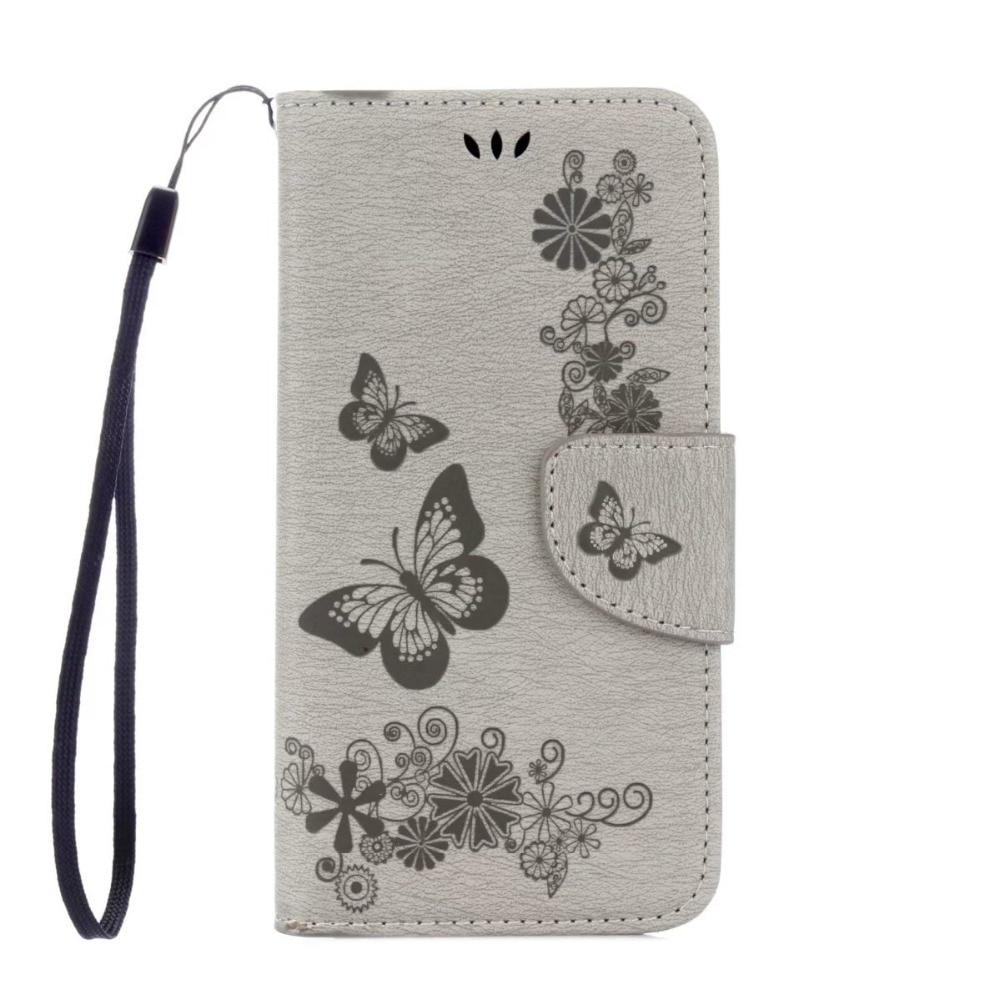 FULAIKATE Butterfly Flip Leather Case για Samsung Galaxy S7 Edge - Ανταλλακτικά και αξεσουάρ κινητών τηλεφώνων - Φωτογραφία 3