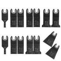 14 Pcs Quick Change Oscillating Multi Tool Saw Blade For Multimaster Power Tools As Fein Home