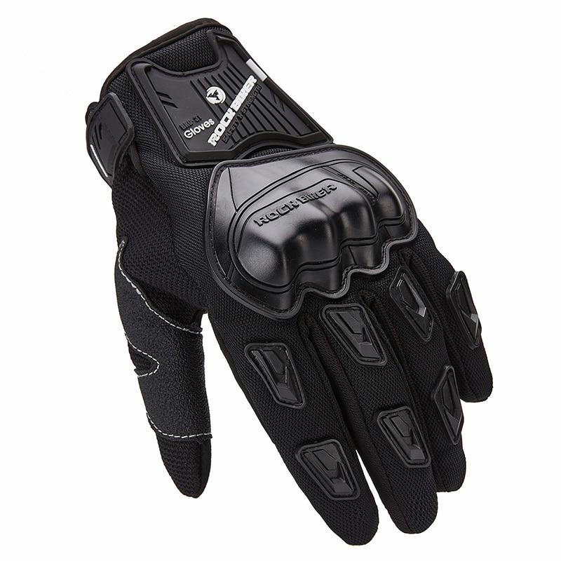 Motorcycle Motorbike Lightweight Spring Summer Gloves Black Spartan
