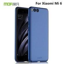 xiaomi mi6 case xiaomi mi 6 MOFi case cover hard back protective phone capas black blue original brand xiaomi 6 xiaomi mi6 case