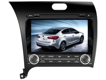 8 inch MTK MT3360 CPU Car DVD Player for Kia Forte Cerato 2013 2014 Car Stereo Radio gps USB SD RDS FM free shipping