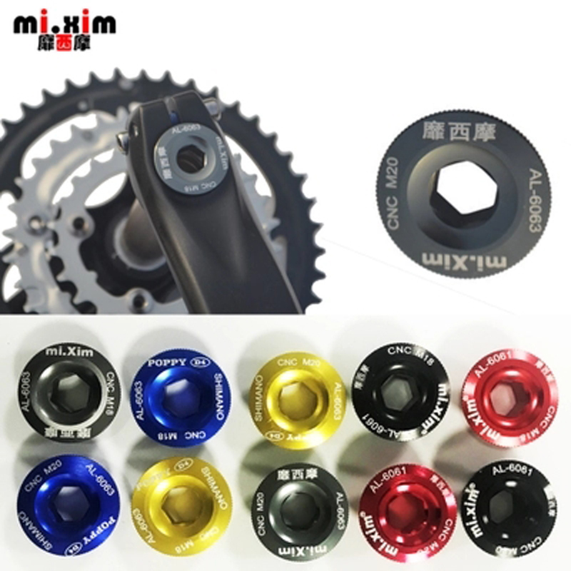 M20 Titanium Alloy Mountain Road Bike Crank Dust Cover Gasket for SHIMANO