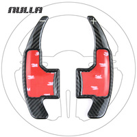 NULLA Carbon Fiber Steering Wheel Shift Paddles Shifter Paddle Gear For Ford Mustang 2015 2016 2017 Car Styling Accessories