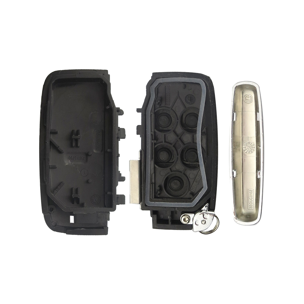 Image 5 - OkeyTech For Land Rover Range Rover Sport  Discovery 4 Evogue LR4 2010 15 Refit for XE XFL Et Jaguar Freelander Car key 5 Button-in Car Key from Automobiles & Motorcycles