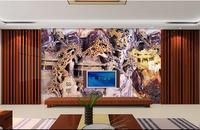 Customize Wallpaper For Walls 3 D Stereoscopic Jade Fairyland 3d Wallpaper Walls 3d Photos Wall Murals