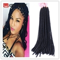 20 Inches Faux Locs Crochet Hair Extensions Crochet Twist Braids Dreadlock Extensions Crochet Goldess Lcss Hot Beauty Hair
